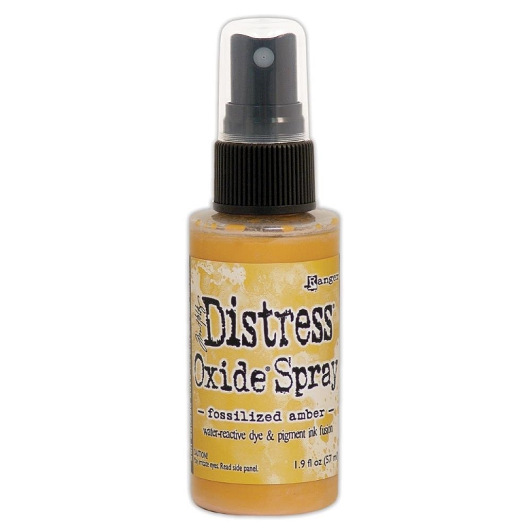 Tim Holtz Distess Oxide Spray 2oz - Fossilized Amber