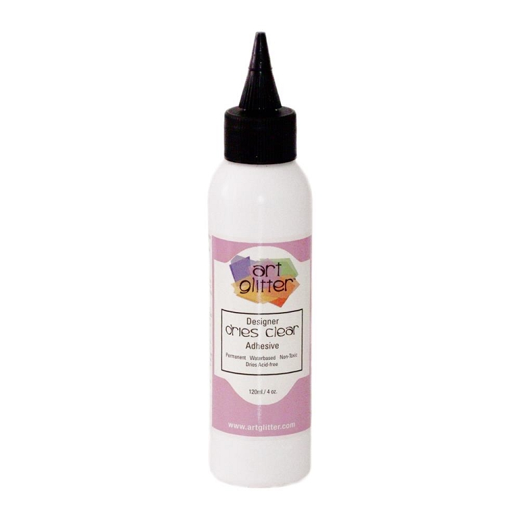 Art Institute Glitter Designer Dries Clear Adhesive 4oz