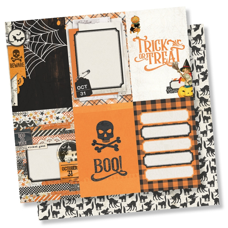 Simple Vintage Halloween - 4 x 6 Vertical Elements
