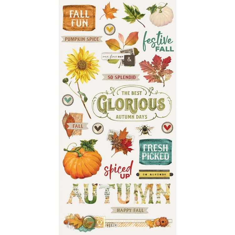 SV Autumn Splendor - 6x12 Chipboard