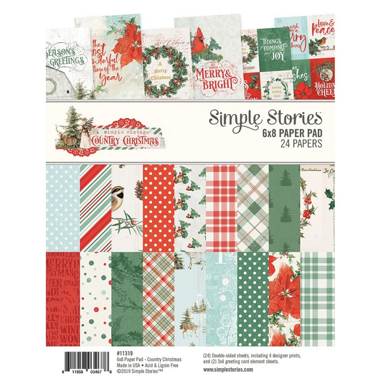 SV Country Christmas - 6x8 Paper Pad