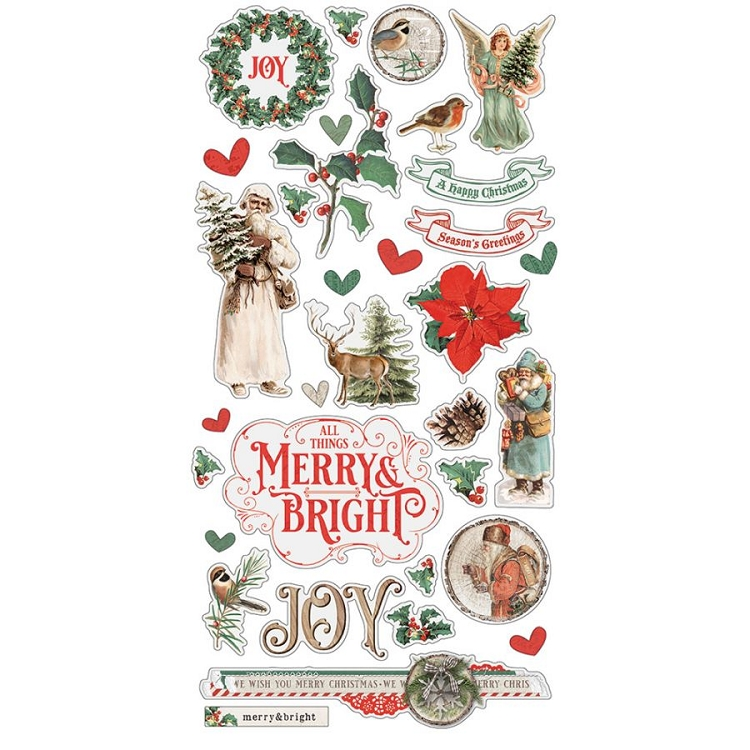 SV Country Christmas - 6x12 Chipboard