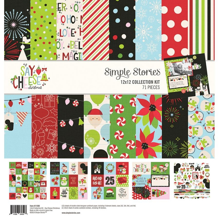 Say Cheese Christmas - Collection Kit 12x12