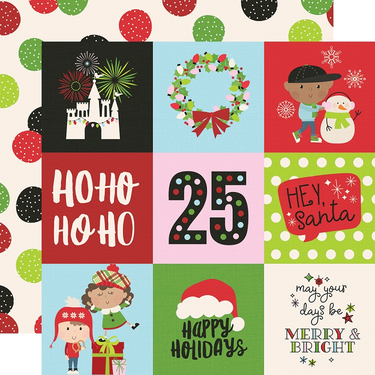 Say Cheese Christmas - 4x4 Elements