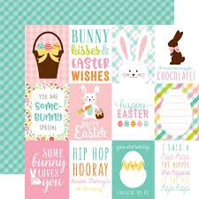 Hello Easter 3 x 4 Journaling Cards