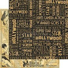 Vintage Hollywood Silver Screen