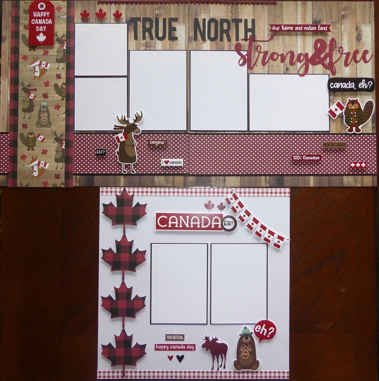 Kits By MatScraps  -  Canada Day Super Kit