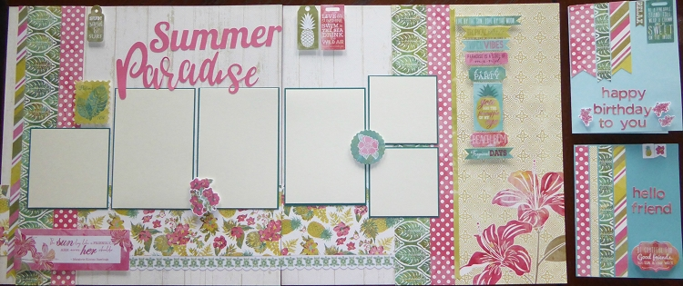 Kits By MatScraps  -  Summer Paradise Super Kit