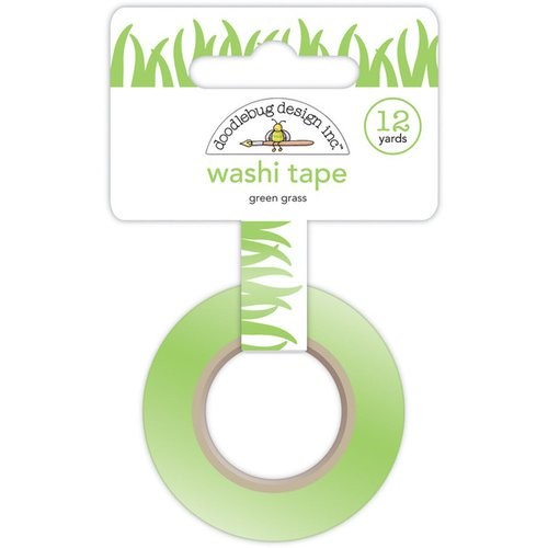 Down on the Farm - Green Grass Washi Tape