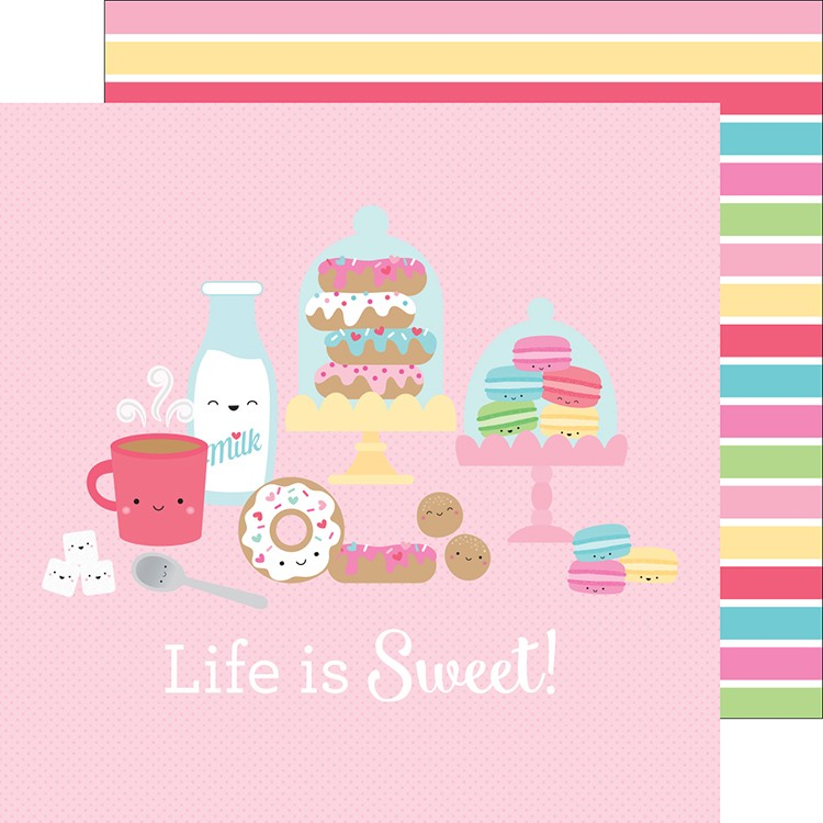 Doodlebug - Sweet Shoppe Stripe