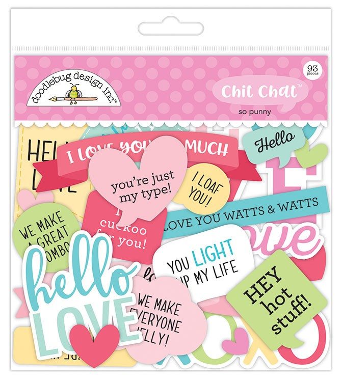 So Punny - Chit Chat Die Cuts