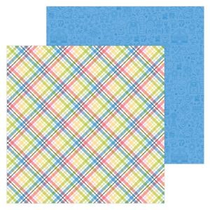 Down on the Farm - Farmer Flannel Double Sided Cardstock