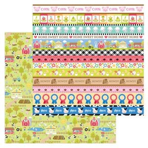 Down on the Farm - Down on the Farm Double Sided Cardstock