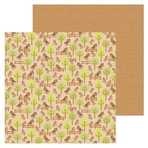 Down on the Farm - Horsin' Around Double Sided Cardstock