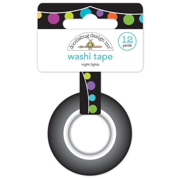 Doodlebug - Pumpkin Party - Night Lights Washi Tape