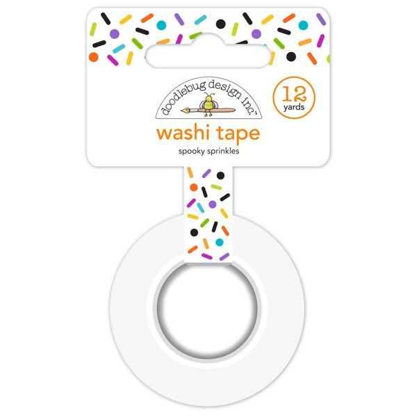 Doodlebug - Pumpkin Party - Spooky Sprinkles Washi Tape