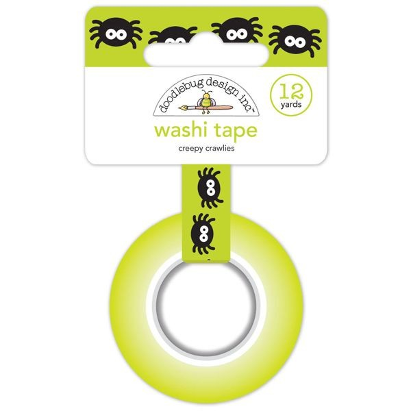Doodlebug - Pumpkin Party - Creepy Crawlies Washi Tape