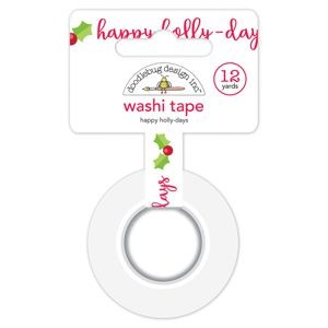 Doodlebug - Christmas Town - Happy Holly-Days Washi Tape