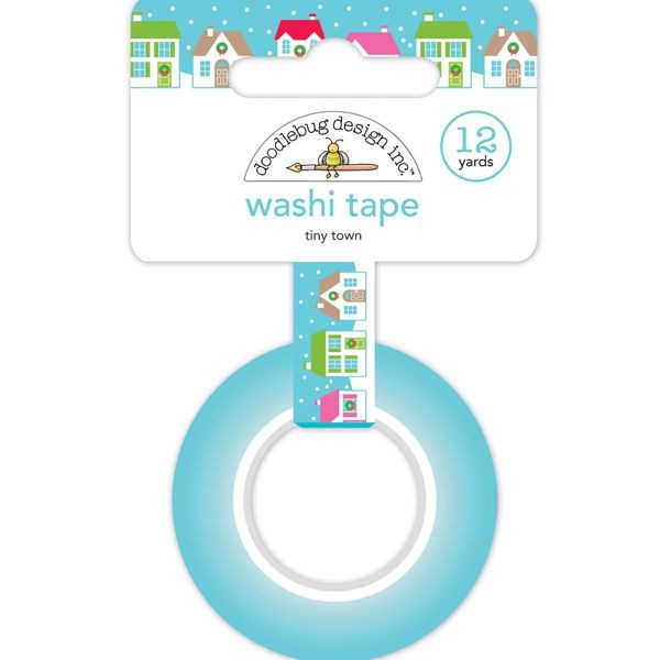 Doodlebug - Christmas Town - Tiny Town Washi Tape