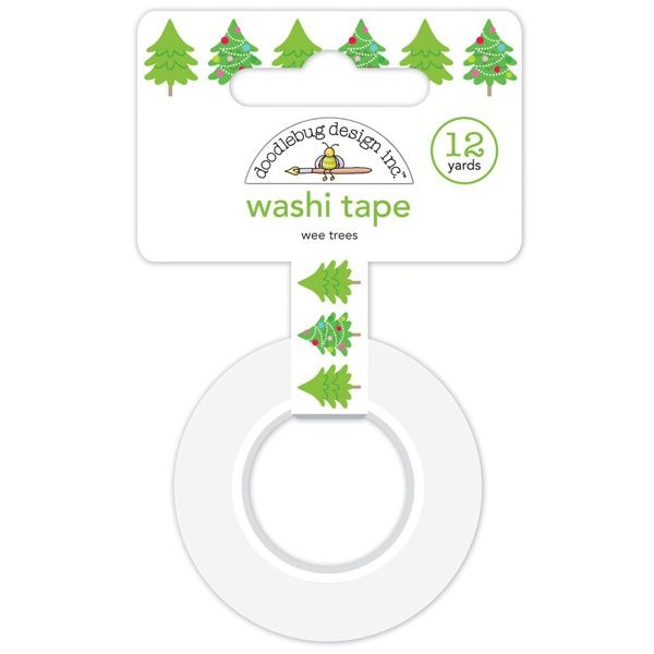 Doodlebug - Christmas Town - Wee Trees Washi Tape