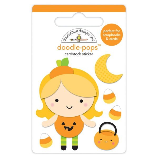 Doodlebug - Pumpkin Party - Little Pumpkin Doodle-Pops