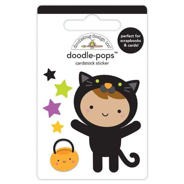 Doodlebug - Pumpkin Party - Cute Kitty Doodle-Pops
