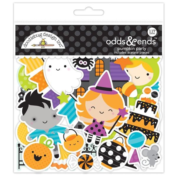 Doodlebug - Pumpkin Party - Odds & Ends