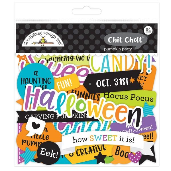 Doodlebug - Pumpkin Party - Chit Chat