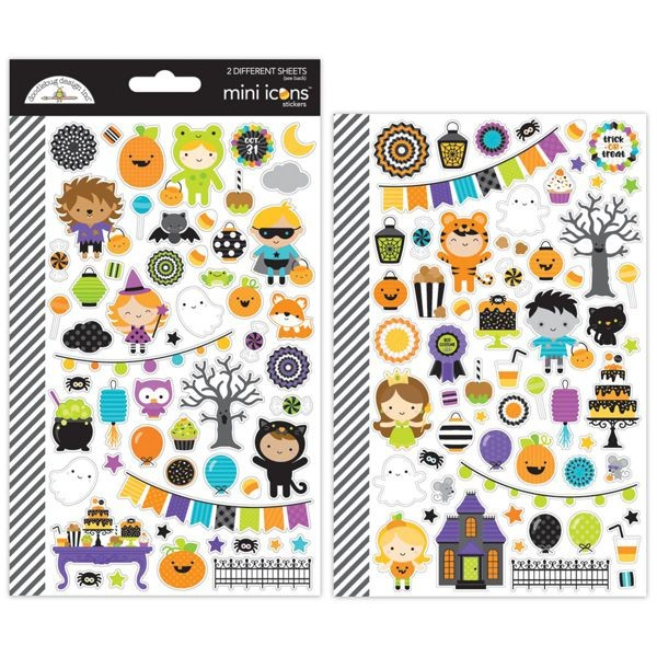 Doodlebug - Pumpkin Party - Mini Icons