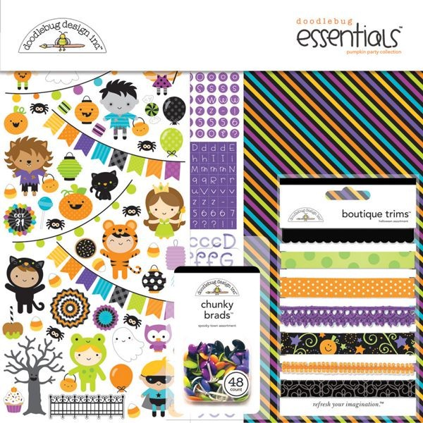 Doodlebug - Pumpkin Party - Essentials Kit