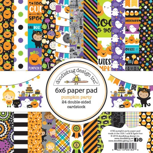 Doodlebug - Pumpkin Party - 6x6 Paper Pad