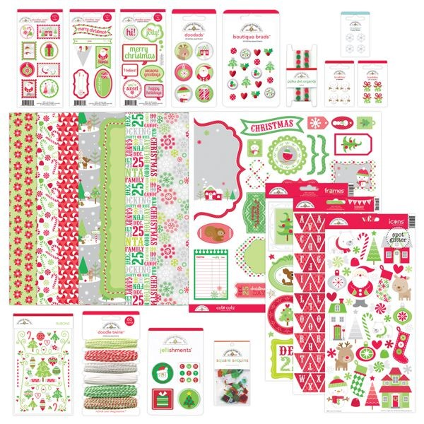 Doodlebug - Christmas Town - North Pole Value Bundle