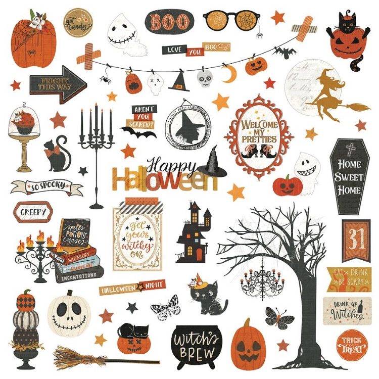 All Hallows Eve - Sticker Sheet