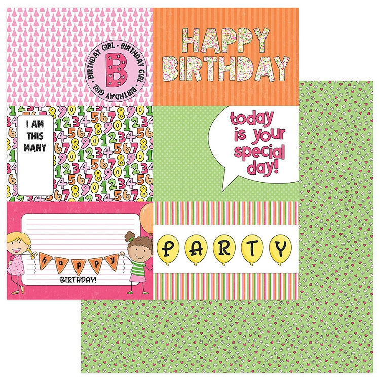 Birthday Wishes Girl - Hip Hip Hooray