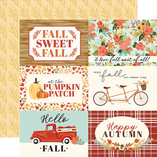 Fall Market - 4X6 Journaling Cards