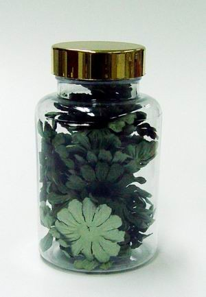 Scrapbook Petals Medium Green Hues
