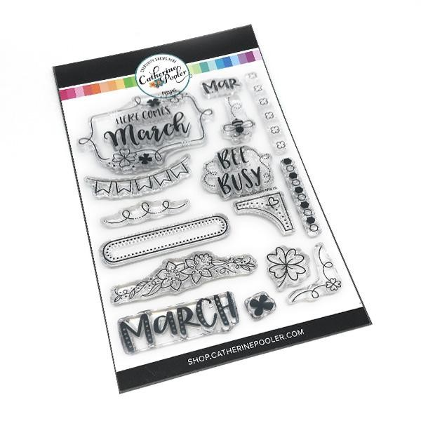 Here Comes March Stamp Set