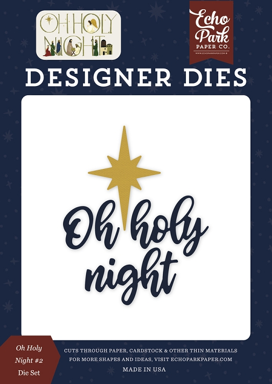 Oh Holy Night - #2 Die Set