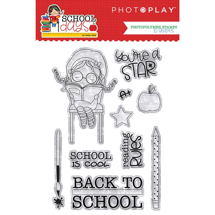 PhotoPlay - School Days - Stamp Set