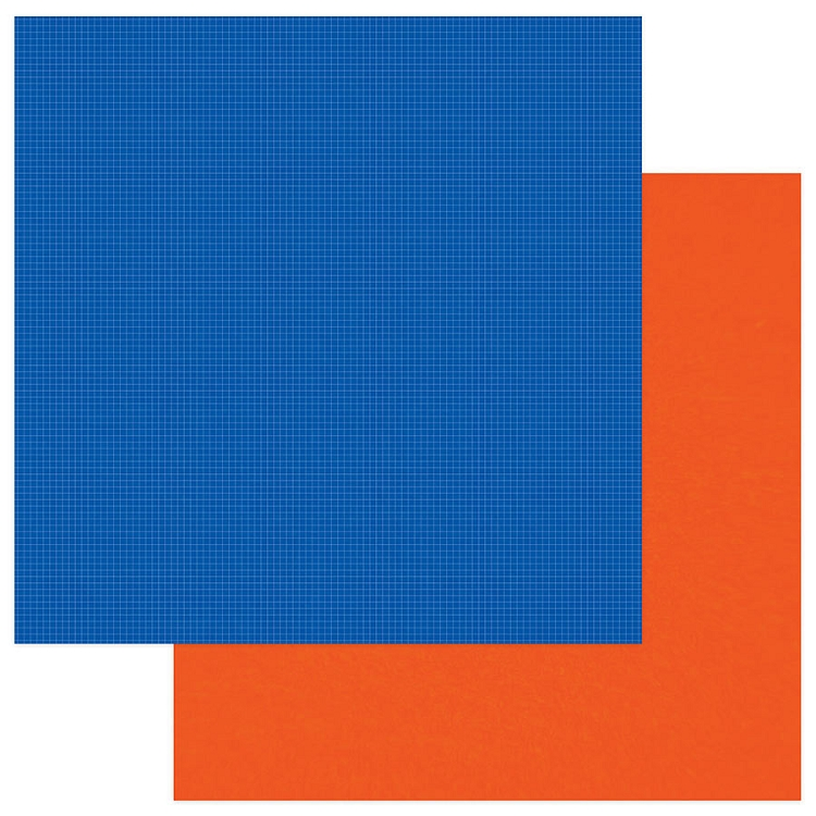 PhotoPlay - School Days - Solids Plus Blue Orange