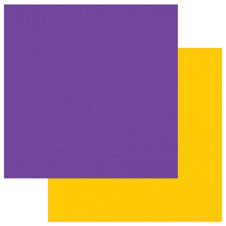 PhotoPlay - School Days - Solids Plus Purple Yellow