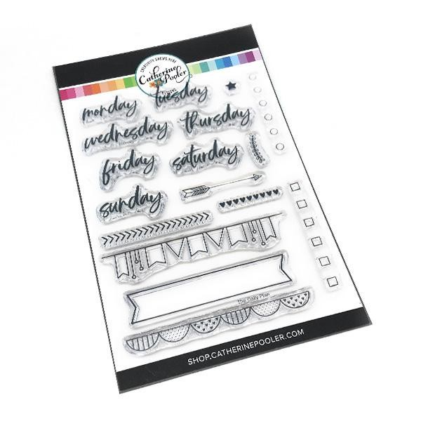 Daily Plan Stamp Set