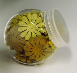 Scrapbook Petals Medium Yellow Hues