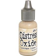 Tim Holtz Distress  Oxide Re-inker Antique Linen