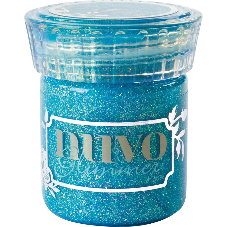 Nuvo Glimmer Paste - Topaz Blue