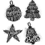 Tim Holtz Cling Stamps Carved Christmas 2