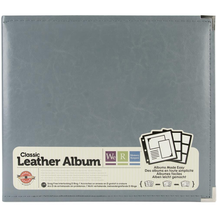 We R Classic Leather D-Ring Album 12