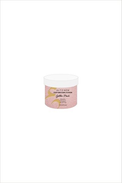 Crisp Embossing Powder - Golden Peach
