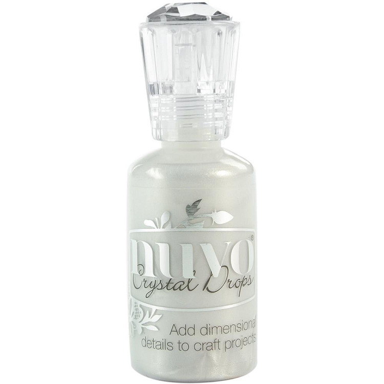 Crystal Nuvo Drops Ivory Seashell