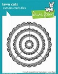 Fancy Scalloped Circle Stackables